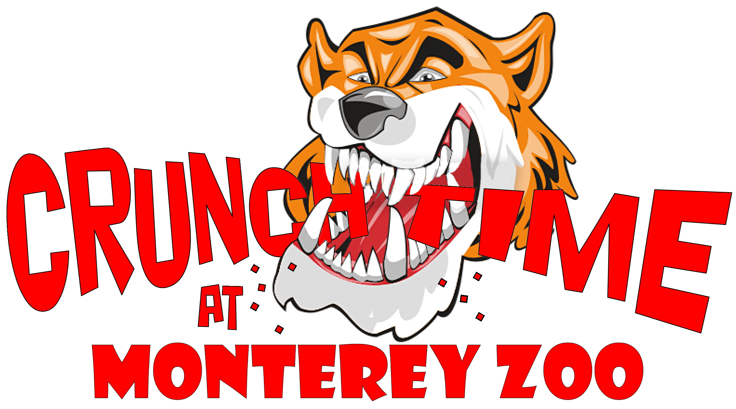 CRUNCH TIME AT Monterey Zoo Logo